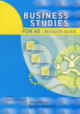 Business Studies for AS Revision Guide by Andrew Hammond image