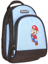 Mario Back Pack Case - Blue for Nintendo DS image