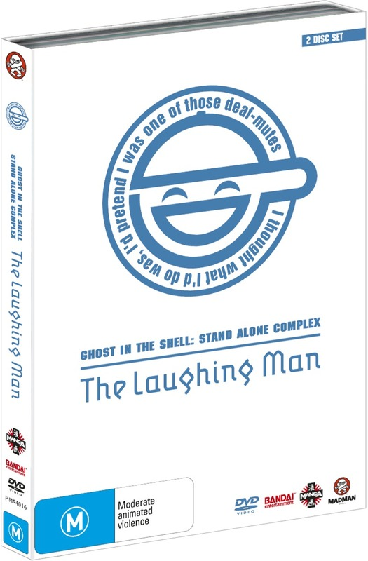 Ghost In The Shell Stand Alone Complex The Laughing Man 2 Disc Set Dvd Buy Now At Mighty Ape Nz