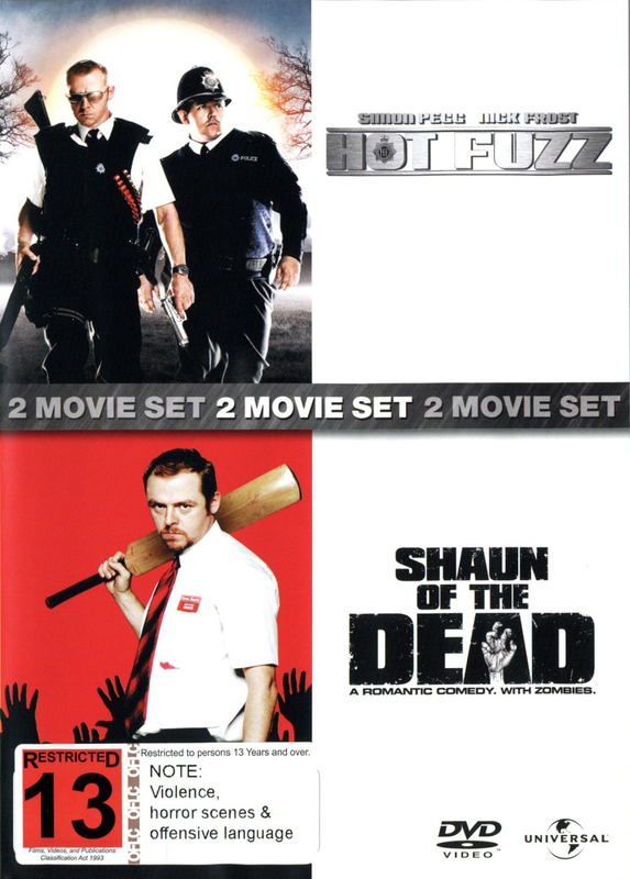 Hot Fuzz / Shaun Of The Dead - 2 Film Box Set on DVD