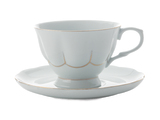 Maxwell & Williams Blush Demi Cup & Saucer - Blue (100ml)