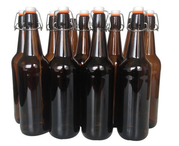 Mangrove Jack's: Amber Flip-Top Bottles (12 x 750ml)