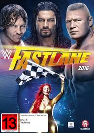 WWE: Fast Lane 2016 on DVD
