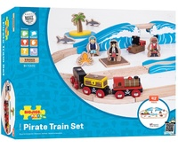 Bigjigs - Pirate Train Set