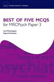 Best of Five MCQs for MRCPsych Paper 3 by Lena Palaniyappan image