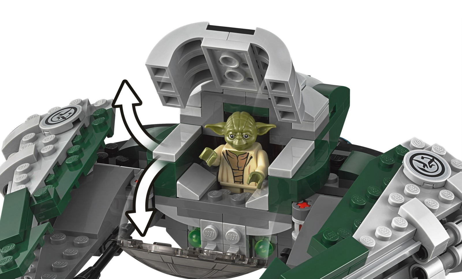 LEGO Star Wars: Yoda's Jedi Starfighter (75168) image