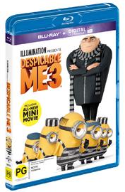 Despicable Me 3 on Blu-ray, UV image