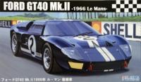 Fujimi: 1/24 Ford GT-40 MKII (1966 Le Mans Winner) - Model Kit