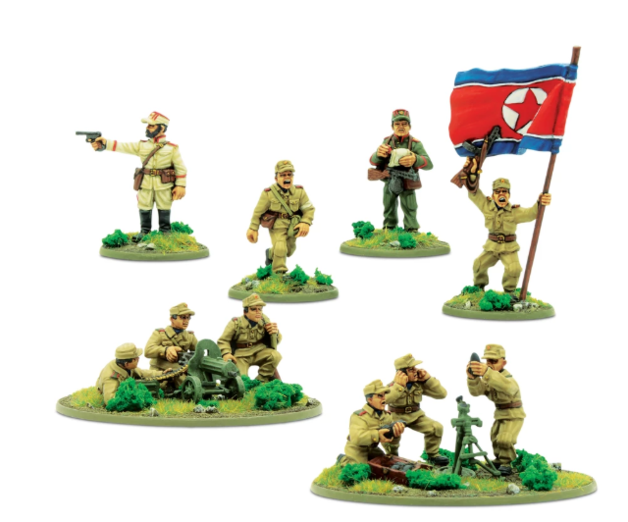 Bolt Action: North Korean KPA support group
