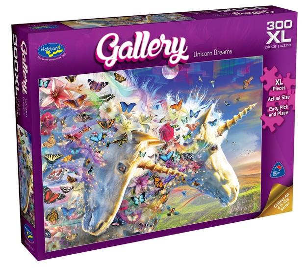Holdson XL: 300 Piece Puzzle - Gallery S6 (Unicorn Dreams)