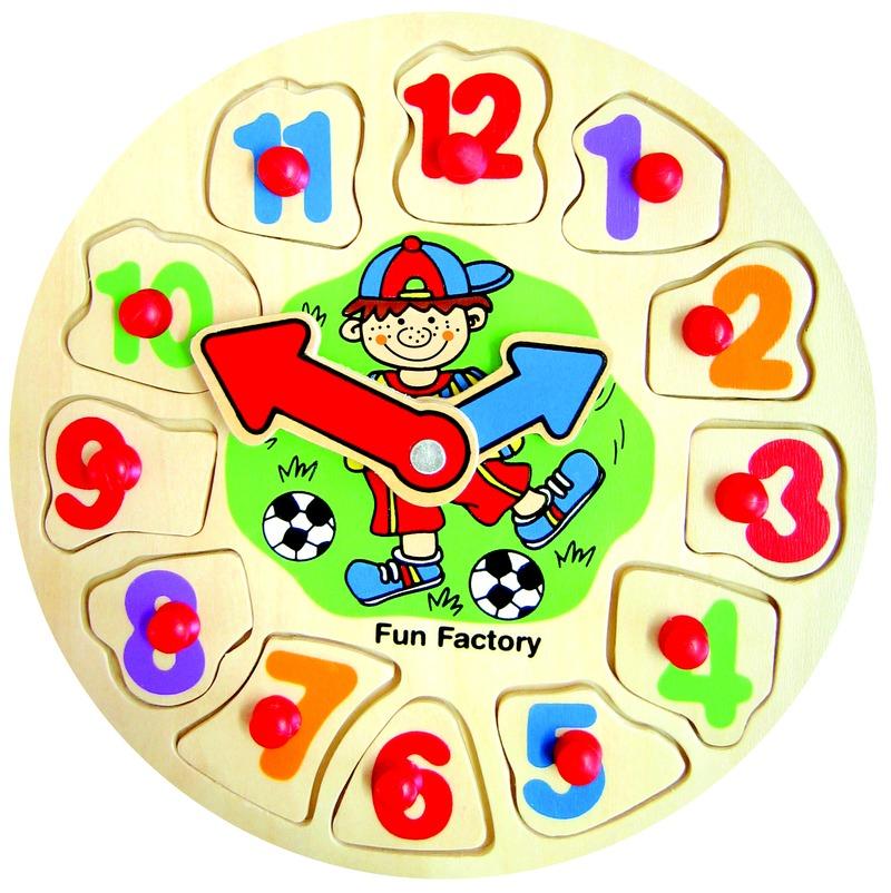 Fun Factory - Boy Clock Puzzle image