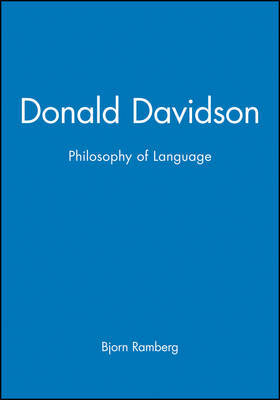 Donald Davidson's Philosophy of Language - an Introduction by Bjorn Ramberg image
