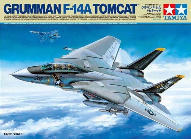 Tamiya Grumman F-14A Tomcat 1:48 scale Model Kit