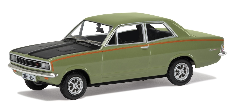 Corgi: 1/43 Vauxhall Viva GT (HB) 'Elkhart Yellow' - Diecast Model image