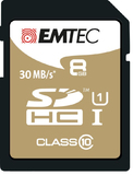 8GB Emtec SD Card Gold+ (Class 10)
