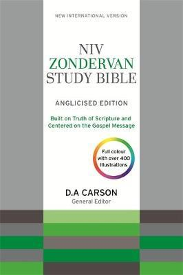 NIV Zondervan Study Bible (Anglicised) by New International Version image