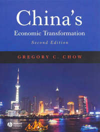 China's Economic Transformation by Gregory C. Chow image