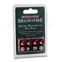 Warhammer Age of Sigmar: Shadespire - Khorne Bloodbound Dice