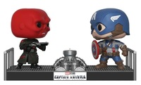 Marvel: Captain America & Red Skull - Pop! Movie Moment Figure