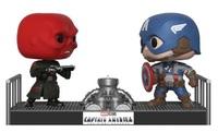Marvel: Captain America & Red Skull - Pop! Movie Moment Figure