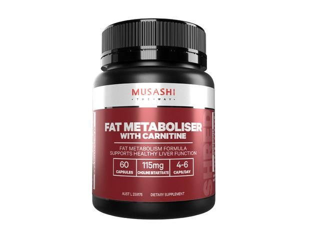 Musashi: Fat Mobiliser with Carnitine (60 caps)