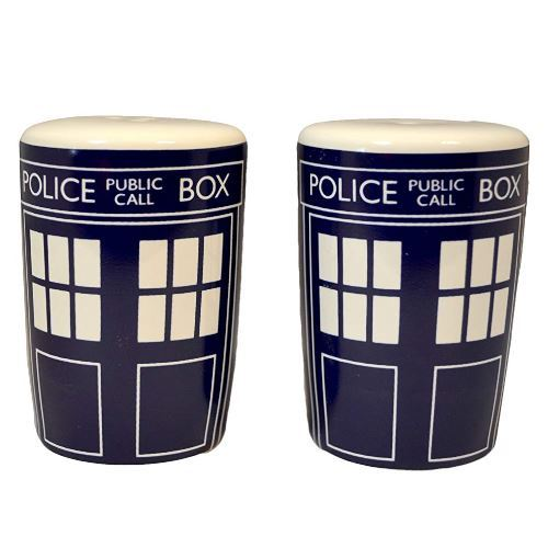 Doctor Who: Tardis Ceramic Salt & Pepper Shakers