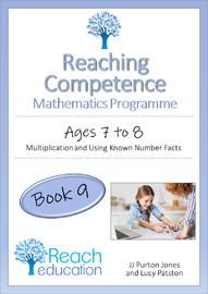 Reaching Competence Mathematics Programme - Book 9 by JJ Purton Jones & Lucy Patston image