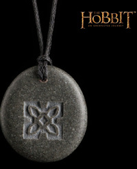 The Hobbit An Unexpected Journey Stone Pendant - Seal of Thorin image