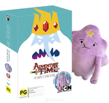 Adventure Time - The Complete Second Season with Plush Toy DVD
