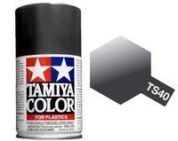 Tamiya TS-40 Metallic Black - 100ml Spray Can