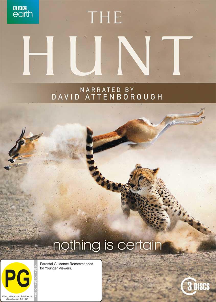 The Hunt on DVD image