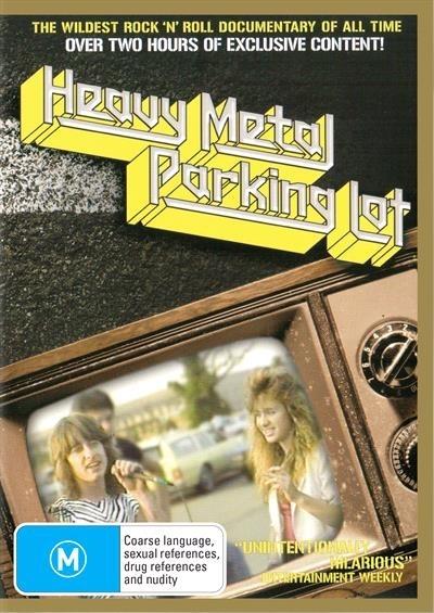 Heavy Metal Parking Lot on DVD