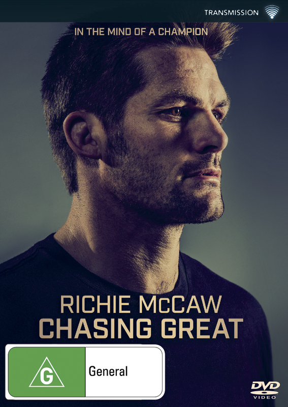 Richie McCaw: Chasing Great on DVD