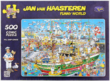 Van Haasteren: 500pc Tall Ships Chaos Puzzle