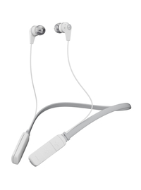 Skullcandy Ink'd Wireless In-Ear Earbuds - White/Gray/Gray