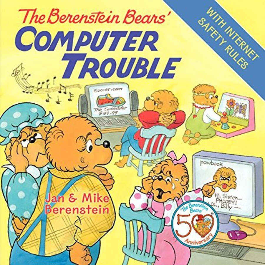 The Berenstain Bears' Computer Trouble by Jan Berenstain image