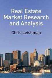 Real Estate Market Research and Analysis by C. Nygaard