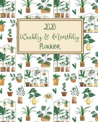2020 WEEKLY & MONTHLY Planner. by Alocasia Garden Planners & Notebooks