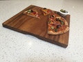 Acacia Square Chopping Board with Finger Grips