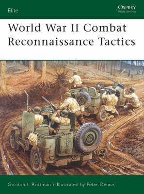 World War II Combat Reconnaissance Tactics by Gordon Rottman image