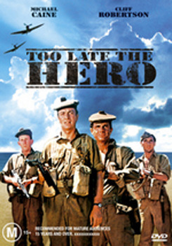 Too Late the Hero on DVD