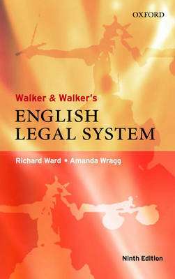 Walker and Walker's English Legal System by Richard Ward