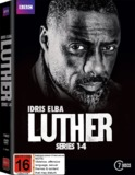 Luther: Series 1-4 Collection Boxset DVD