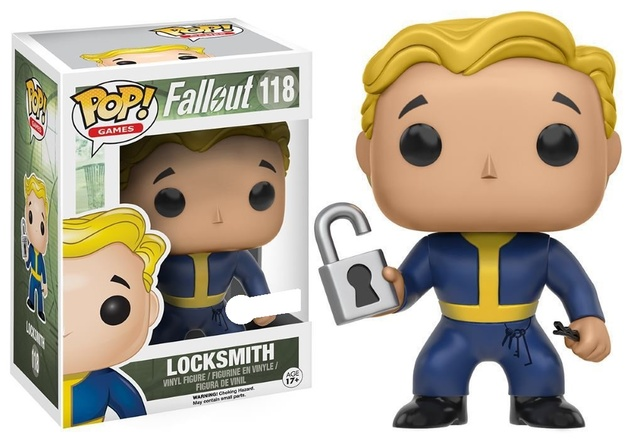 Fallout - Vault Boy (Locksmith Perk) Pop! Vinyl Figure