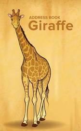 Address Book Giraffe by Journals R Us