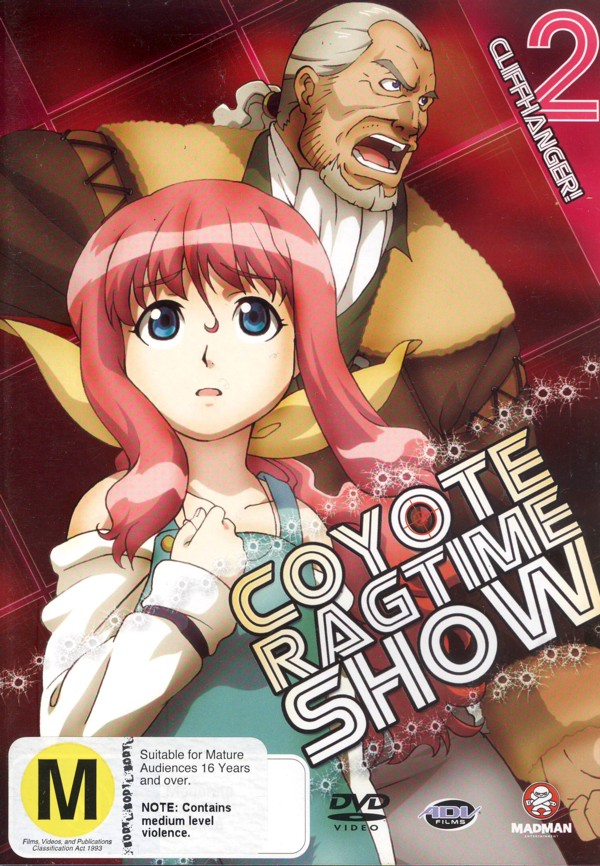 Coyote Ragtime Show V2 - Cliffhanger on DVD image