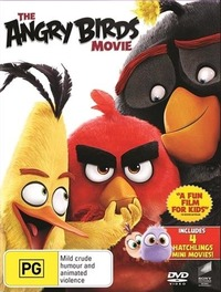 The Angry Birds Movie on DVD