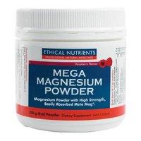 Ethical Nutrients: MEGAZORB Mega Magnesium Powder - Raspberry (200g)