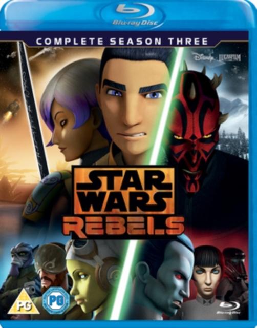 Star Wars Rebels Complete Season Three on Blu-ray