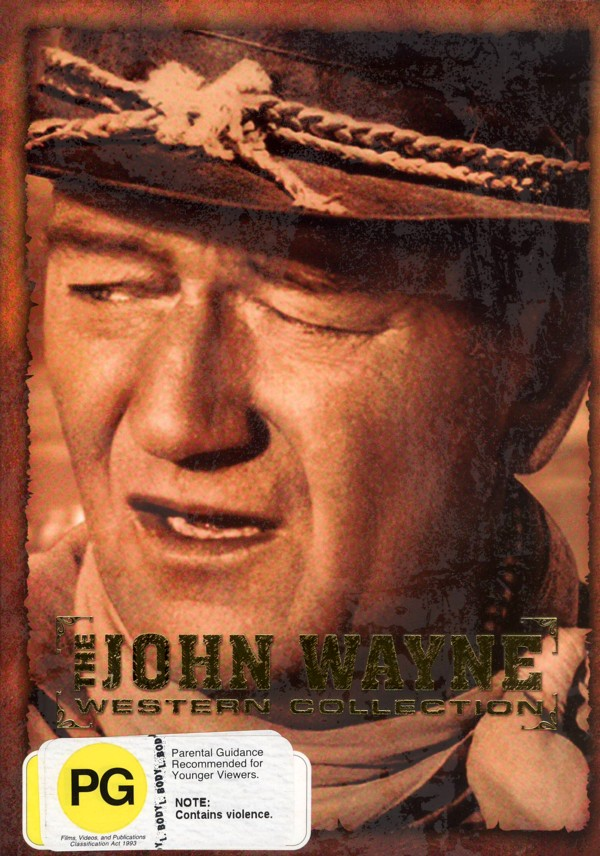 John Wayne - Western Collection (5 Disc Box Set) on DVD image